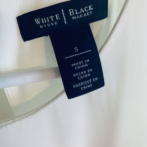 White House Black Market Tops - White House Black Market Asymetrical Blouse